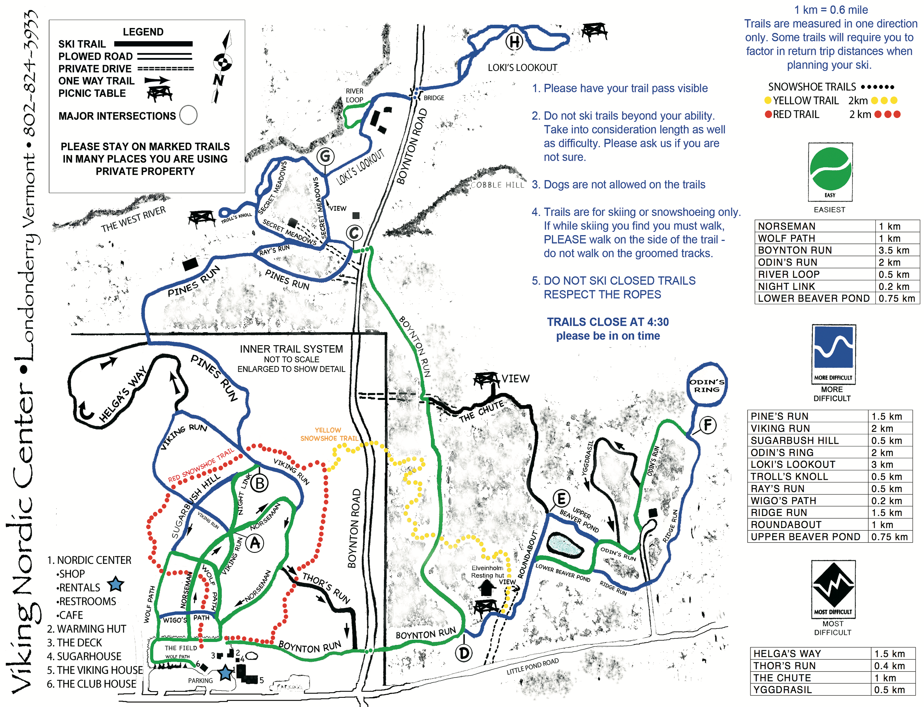 Trail Map & Descriptions